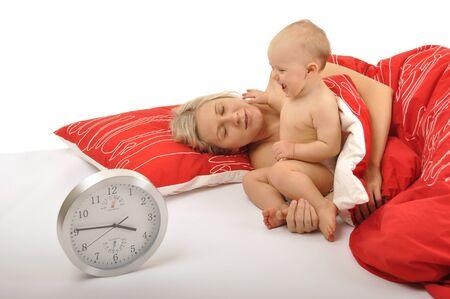 despertarse: el despertar de momia de beb�
