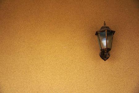 wall lamp: The wall lamp