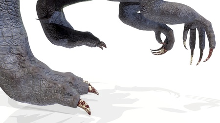 animal, indominus rex of backgorund, 3d rendering Imagens - 119718486