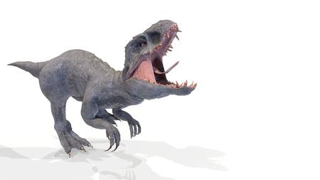 animal, indominus rex of backgorund, 3d rendering Imagens - 119718487