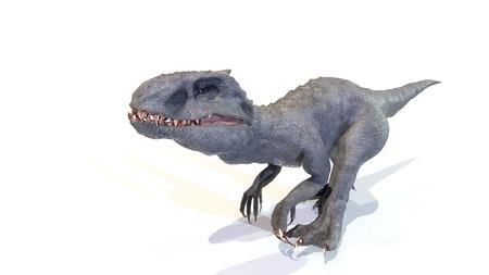 animal, indominus rex of backgorund, 3d rendering Imagens - 119718489