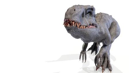 animal, indominus rex of backgorund, 3d rendering Imagens - 119718494