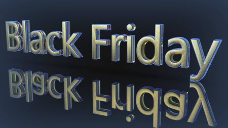 Black Friday of backgrounds,3d render Imagens - 129995982