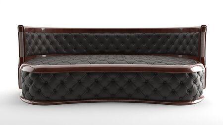 Modern luxury upholstered furniture of background, 3d render Imagens - 132043020