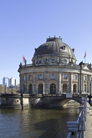 bode: Originally called the Kaizer-Friedrich-Museum n its completion in 1904 the ByzantineGothic combination was renamed the Bode Museum in 1956 after its foundercurator Wilhelm von Bode. The Bode Museum is one of a collection of musea on Museum Island in the Editorial