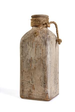 vintage bottle over white Stock Photo - 22924121
