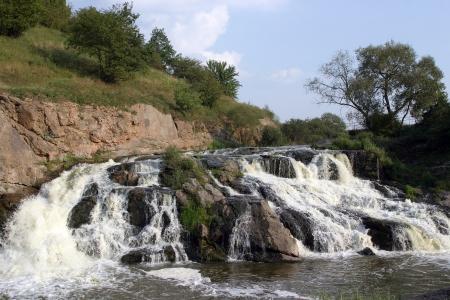 Waterfall in Ukraine