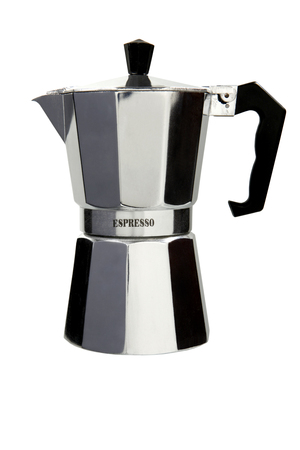 Classic italian coffee maker Stock Photo