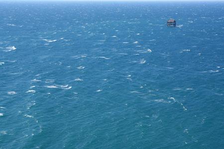 seawater: natural blue seawater surface
