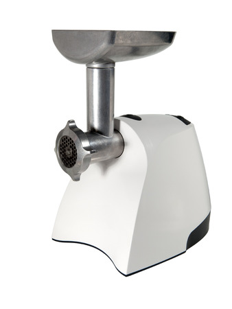 Electric meat grinder isolated  photo