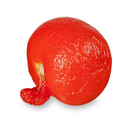 joyless: unusual old tomato Stock Photo