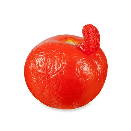 unusual old tomato Stock Photo