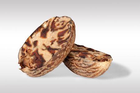 Macro close up of Nutmeg