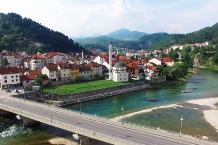 New bridge across the Neretva in Konjic
