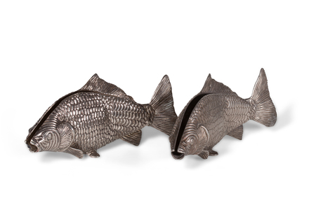 Kitchenware use for napkin napkins in the form of two fish