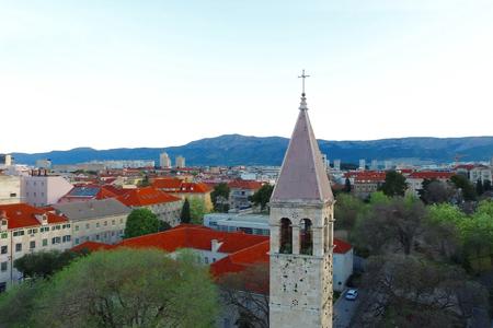Roofs of houses in Split