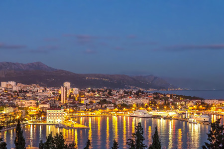 View of Split in Croatia