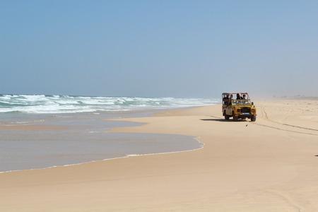 Beach in Senegal
