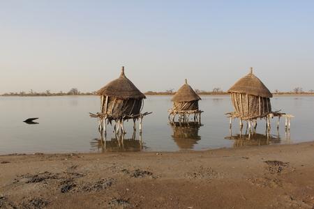 Wonderful silence in Senegal Foto de archivo