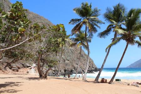 The big beach of Choron