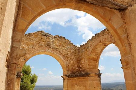Ruins in Teruel Foto de archivo - 120853770