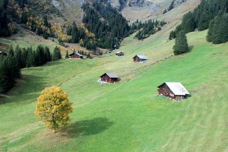 Views of the valley Foto de archivo