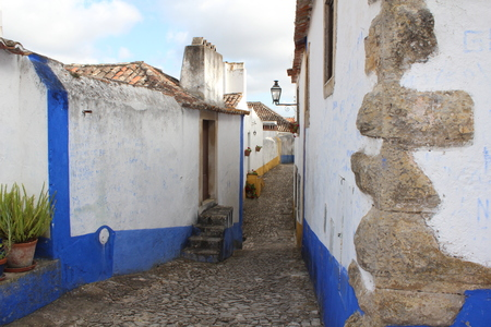 Small street in Ovidos