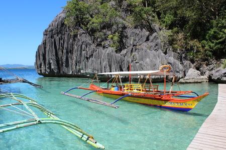 A paradise in Philippines Foto de archivo