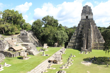 Amazing Tikal in Guatemala Stock Photo