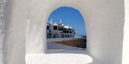 Small village in the Mediterranean