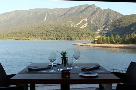 Amazing views of the lake from the restaurant