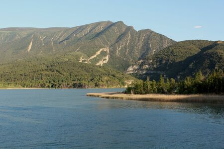 Amazing lake in Catalunya Foto de archivo