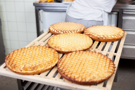 biscuit factory: Production of tasty cakes in the bakery