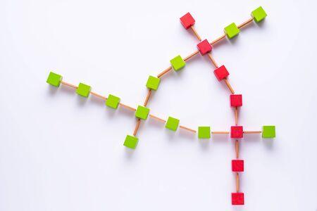 Logistics. Risk management concept. Data charts. Business concept.