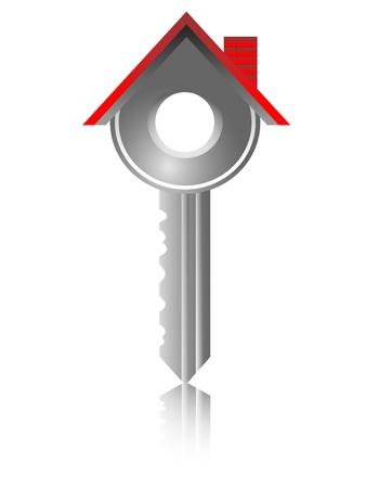 real estate house: house key