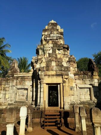 art: Khmer Art - Sdok Kok Tom Stock Photo