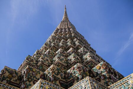 wat pho: pagoda at Wat Pho Temple