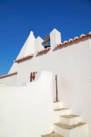 Old coastal church in Algarve, Portugal