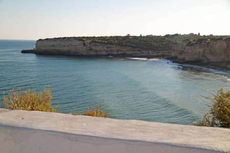Coastal cliffs in Algarve, Portugal