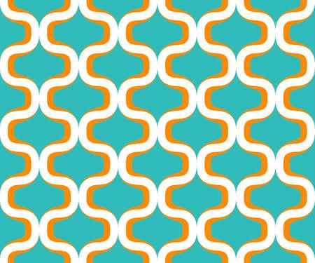 siebziger jahre: Retro colorful siebziger seamless pattern