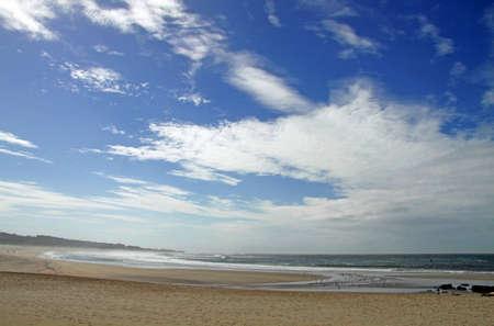 praia: Beach of Vila Praia de �ncora, in Portugal Stock Photo
