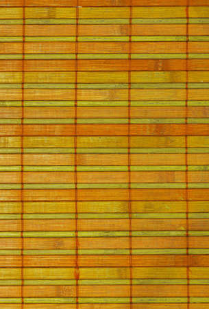 Closeup of a Tatami made of wood chip boards