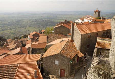 Monsanto - Medieval Village in Portugal Stock Photo