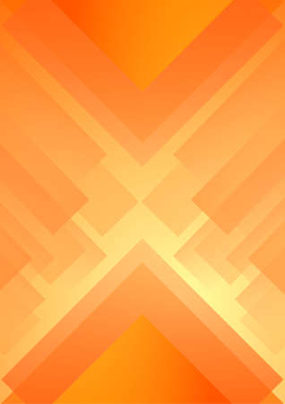 causing: orange Triangle background