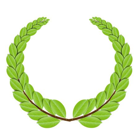 Laurel wreath - vector illustration Vector