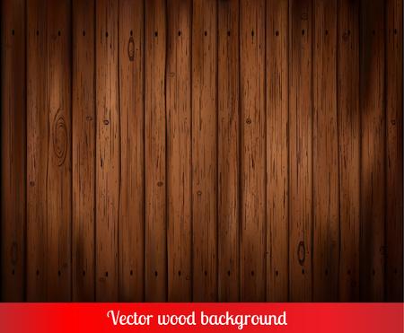 Vecteur planches de bois fond Vecteurs