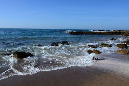 Beach in Morocco near to Sidi Ifni