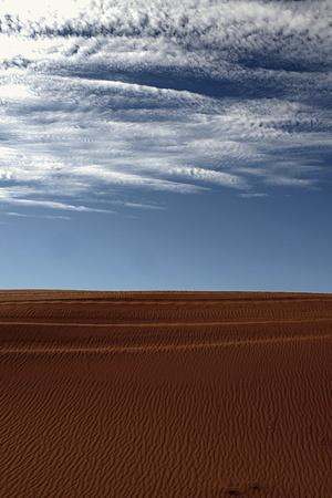 sahara desert: dry Sahara desert near Merzouga in Morocco