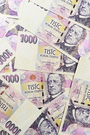 korun: czech crown ceska koruna national money in czech republic