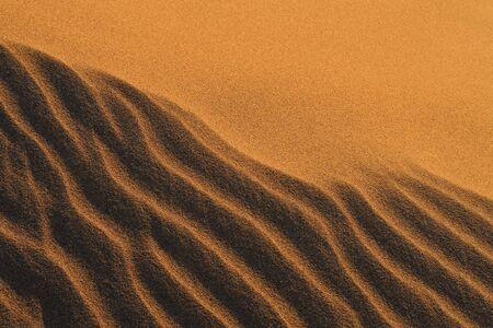 desierto del sahara: arena de desierto del Sahara en Marruecos, cerca de Mhamid